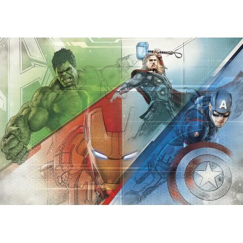 Fototapet Marvel Avengers Graphic Art...