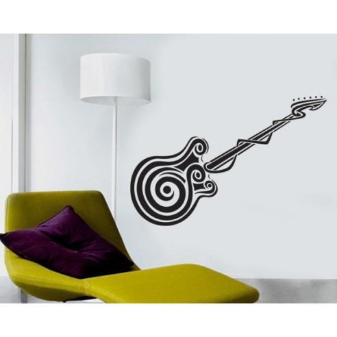 Sticker decorativ Chitara