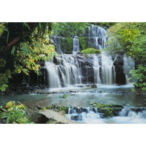 Fototapet Komar Pura Kaunui Falls...