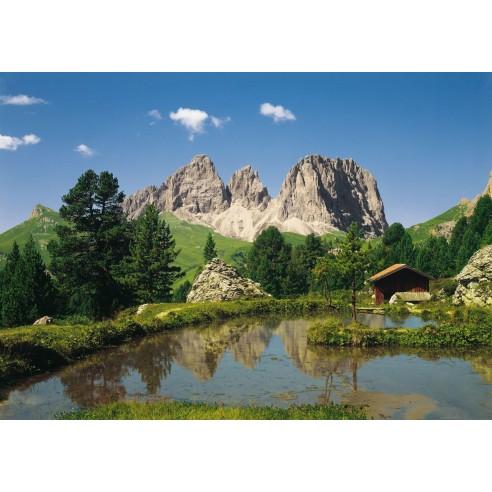 Fototapet Komar Dolomiten (388 x 270 cm)