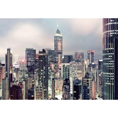 Fototapet Komar Skyline (368 x 254 cm)