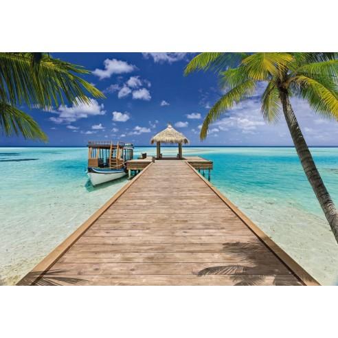 Fototapet Komar Beach Resort (368 x...
