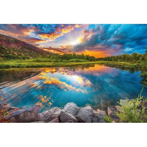 Fototapet Komar Daybreak (368 x 248 cm)