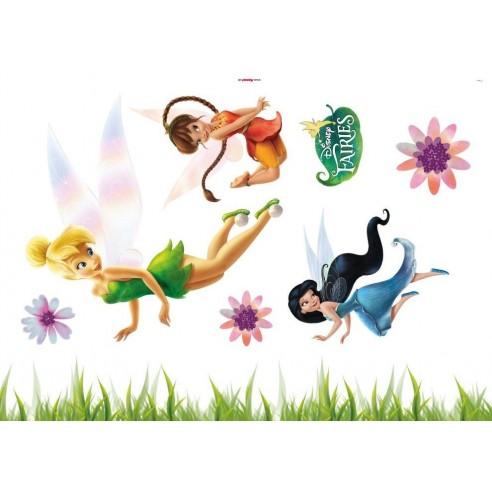 Sticker Disney Fairies (50x70 cm)
