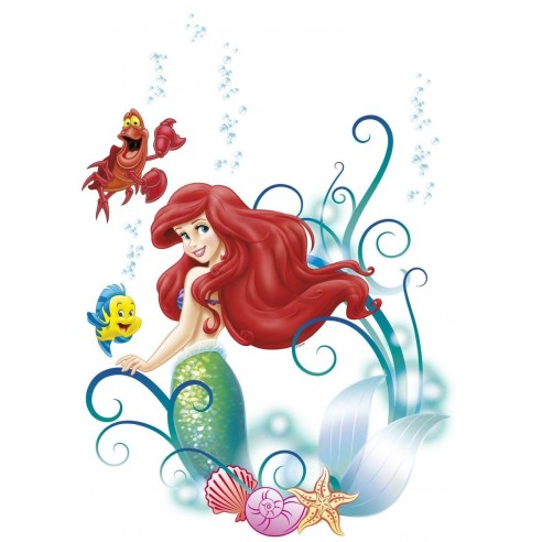 Sticker Disney Arielle (50x70 cm)