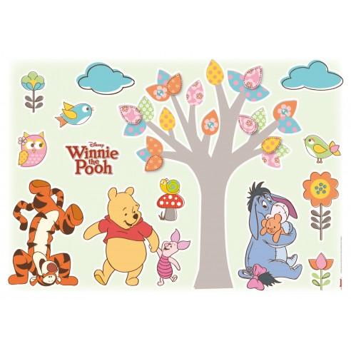 Sticker Disney Winnie Pooh Nature...