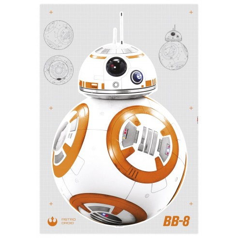 Sticker Star Wars Star Wars BB8...