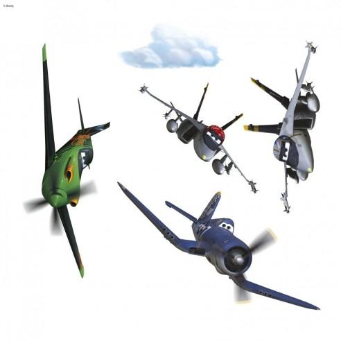 Sticker Geamuri Disney Planes (31x31 cm)