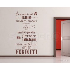 Sticker decorativ de perete...