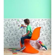 Tapet pentru camera copiilor - poate fi colorat