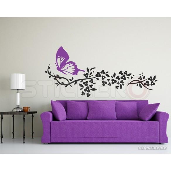 Sticker decorativ Floarea belsugului