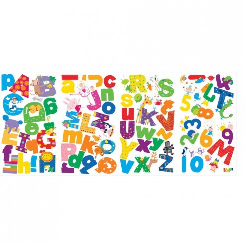 Sticker educativ LAZOO ALPHABET