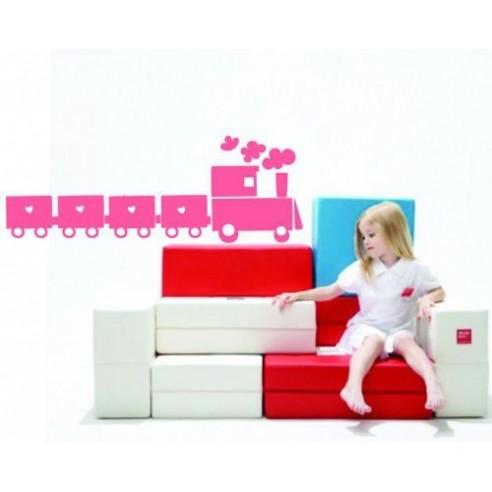 Sticker decorativ Fata Visatoare