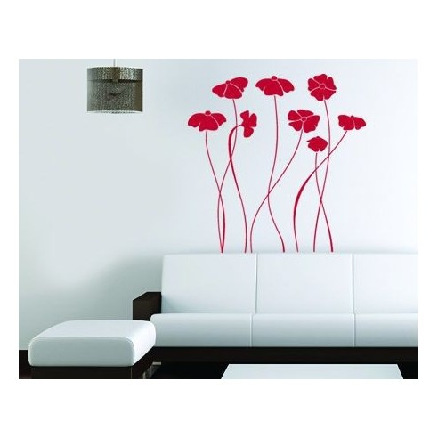 Sticker decorativ Floricele vesele