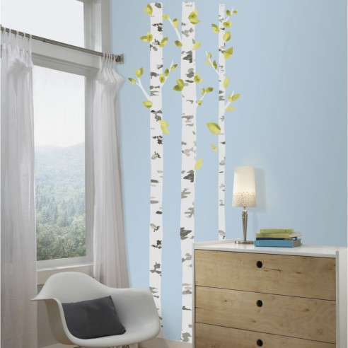 Sticker decorativ BIRCH TREES