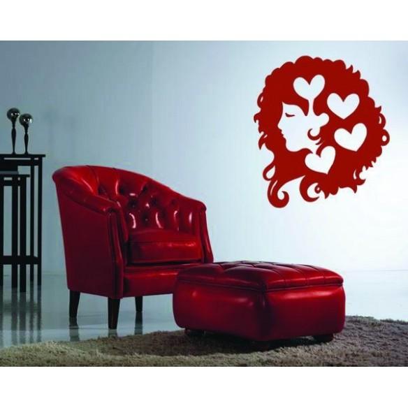 Sticker decorativ Decor cu globulet