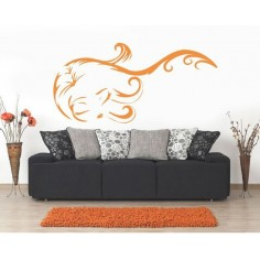 Sticker decorativ Pantera Roz