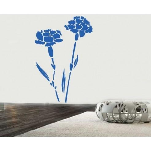 Sticker decorativ Garofite