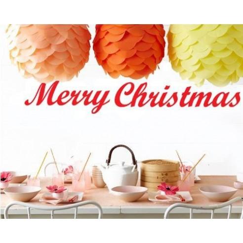 Sticker decorativ Merry Christmas