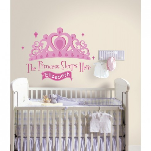 Sticker decorativ PRINCESS SLEEPS There