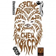 Sticker decorativ CHEWBACCA...