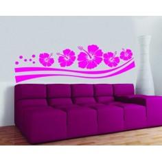 Sticker decorativ Flori pe...