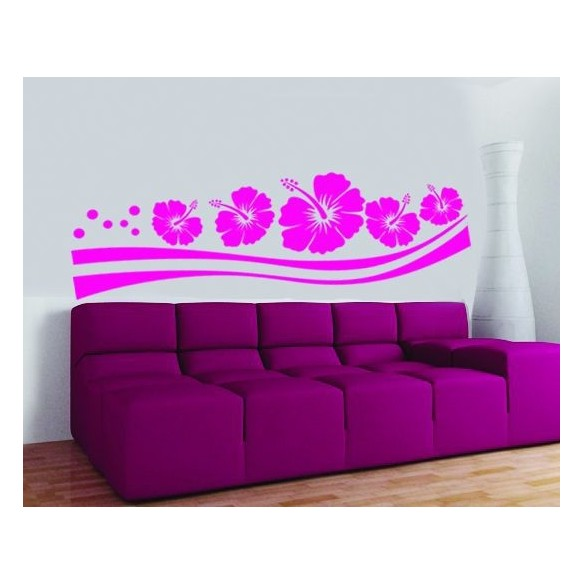 Sticker decorativ Floare de trifoi