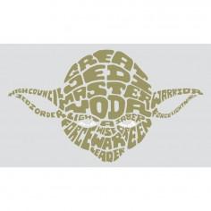 Sticker decorativ YODA -...
