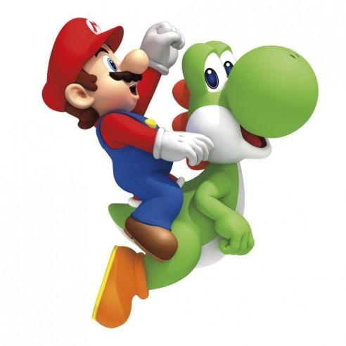Sticker decorativ Yoshi - Mario