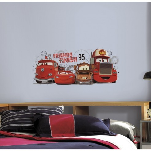 Sticker decorativ CARS 2 FRIENDS to...