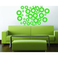 Sticker decorativ Cercuri