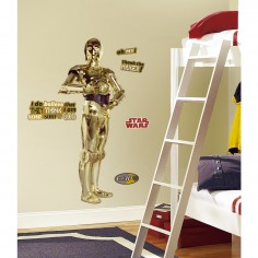 Sticker decorativ C3PO -...