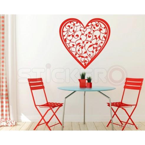 Sticker decorativ Inima