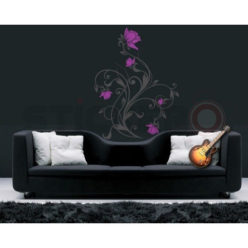 Sticker decorativ Floare chic