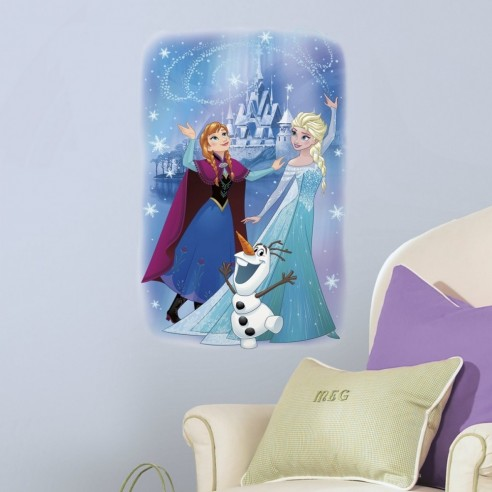 Sticker decorativ FROZEN MAGIC