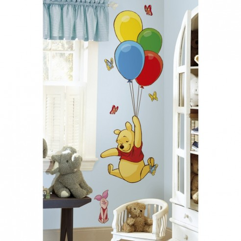 Sticker decorativ POOH si PIGLET