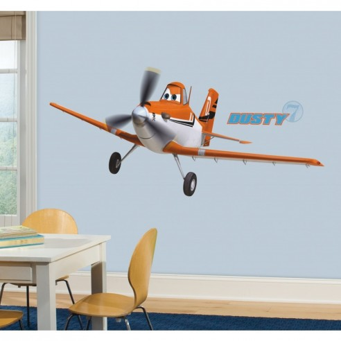 Sticker decorativ DUSTY the PLANE -...