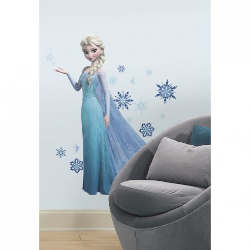 Sticker decorativ Printesa ELSA - FROZEN