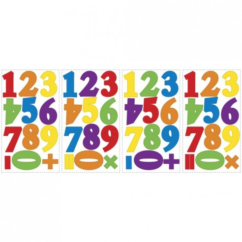 Stickere educative NUMBERS PRIMARY