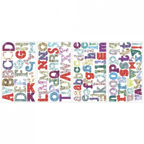 Sticker educativ BOHO ALPHABET