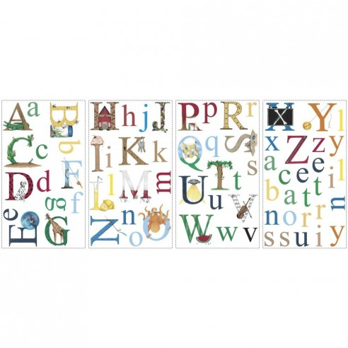 Sticker educativ ALPHABET