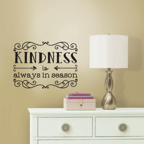 Sticker inspirational Kindness Quote