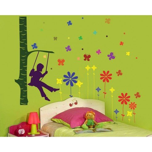 Sticker decorativ Tablou de vara
