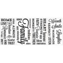 Sticker decorativ TYPOGRAPHY MICKEY MOUSE