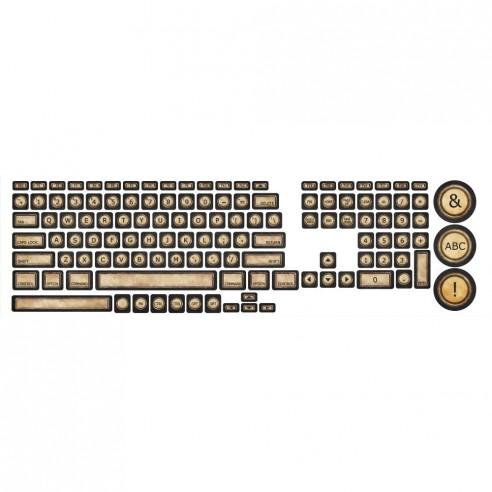 Sticker tastatura VINTAGE