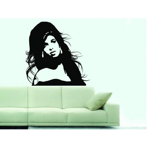 Sticker decorativ Amy Winehouse