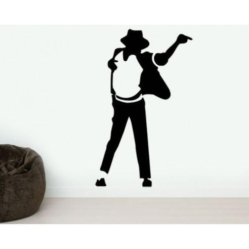Sticker decorativ Michael Jackson...