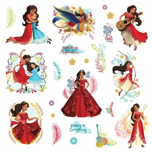 Sticker Printesa Elena Din Avalor