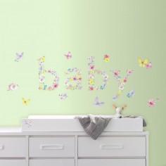 Sticker decorativ BABY...