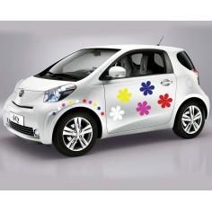 Sticker auto Floricele...